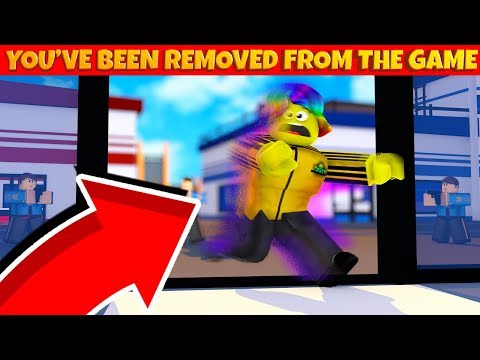 I Got REMOVED From Jailbreak because I did THIS in the new update... (Roblox Jailbreak)