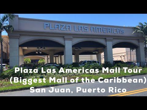 Plaza Las Americas Mall Tour (Biggest Mall of the Caribbean)   San Juan, PR
