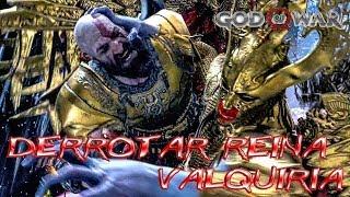 God of War | derrotar a la Reina Valquiria a Hacha | Dificultad quiero God of War | Set Nivel 7,5
