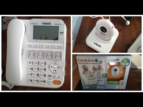 VTech CareLine SN6197 Home Safety Telephone System Review