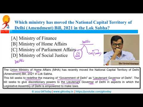20-21 March 2021 Current affairs in English | Today's GK by GKToday