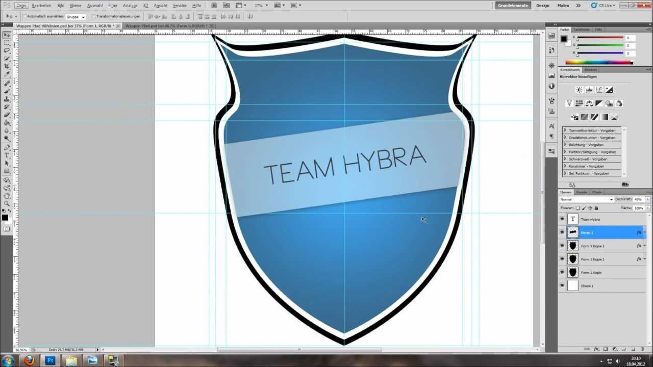 Wappen erstellen by Hybra  YouTube