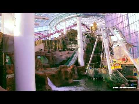 HD Tour of Adventuredome Theme Park in HD - Circus Circus - Las Vegas - Full Tour