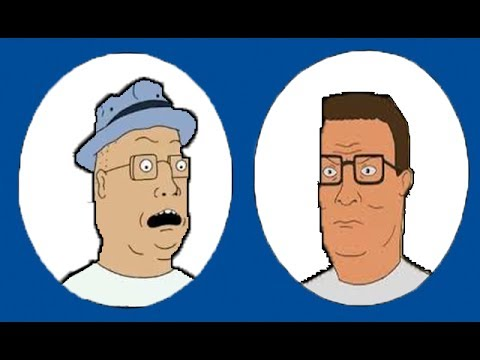 Tom Anderson Meets Hank Hill in Store [Beavis & Butthead Crossover Episode]