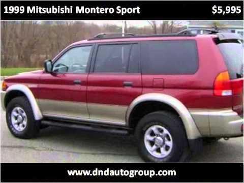 1999 Mitsubishi Montero Sport Used Cars Belvidere NJ