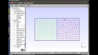 Making Meshes for OpenFOAM with Gmsh, Part 1: Unstructured and Structured Hybrid Meshes