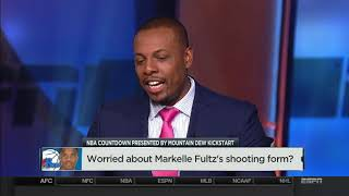 Worried about Markelle Fultz's shooting form? | NBA Countdown