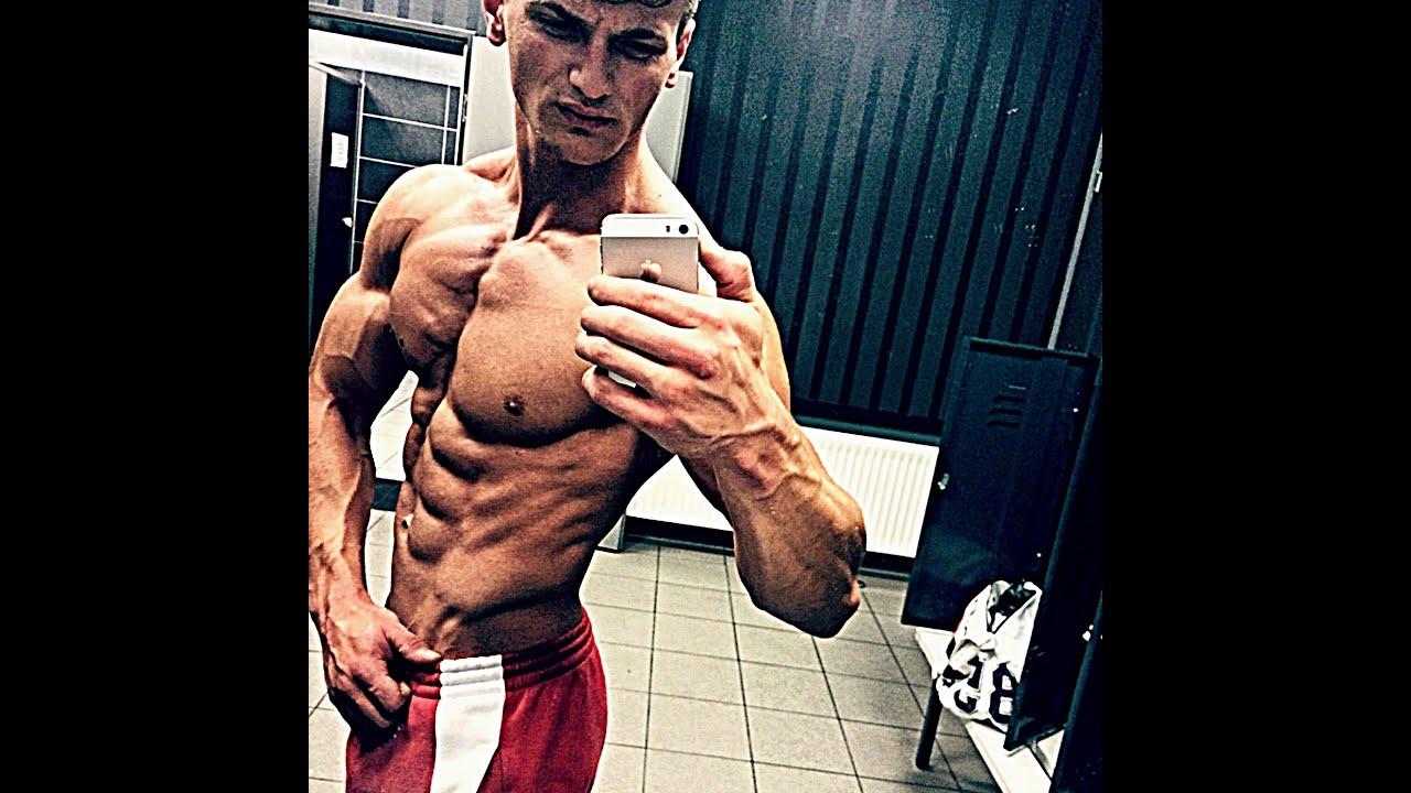 Emir Cehajic  18 years old  Aesthetic Bodybuilding