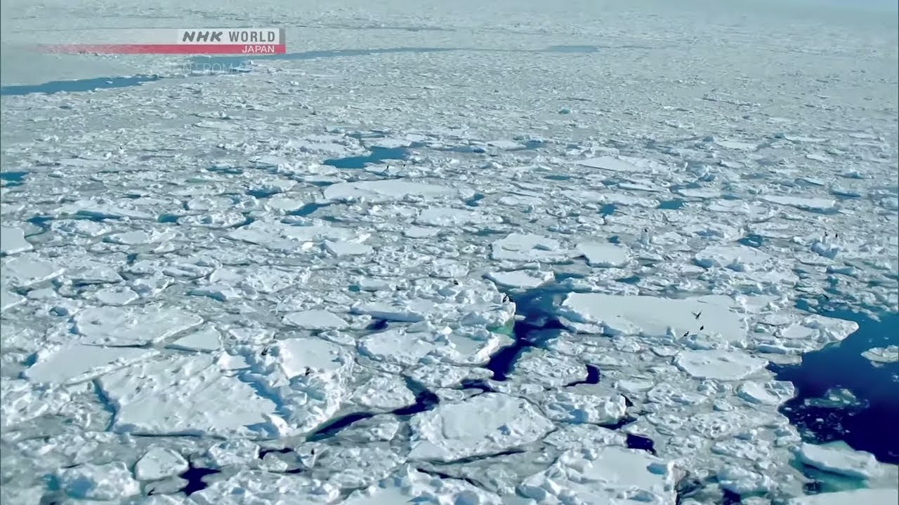 Photo of Vibrant World Under Ice [Hokkaido] – JAPAN FROM ABOVE: UP CLOSE – video