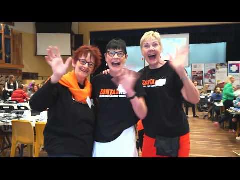 Zonta Club of Brisbane Breakfast packs 13,000 kits in a day!
