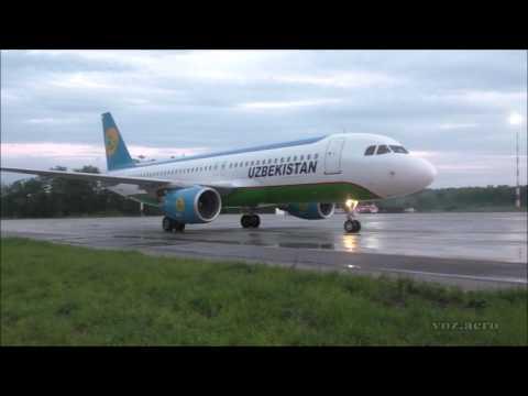 A320 Uzbekistan Airways в Воронеже