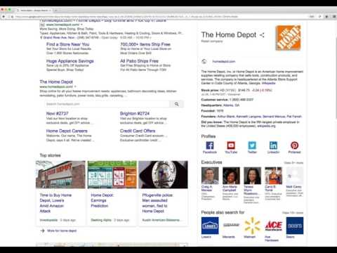 Digging into the Google Knowledge Graph