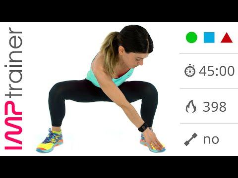 Video Allenamento  GAG, workout fitness completo da 45 minuti