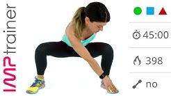 Video Workout  G-A-G,  tonificazione gambe, glutei e addominali (45 minuti)