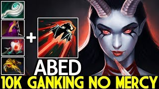 ABED [Queen of Pain] Next Level 10K Ganking No Mercy 7.22 Dota 2