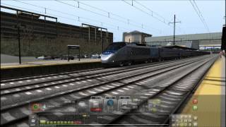 Train Simulator 2014 HD EXCLUSIVE: Custom Hybrid K5LA and Bell Sound for the Acela Express Addon