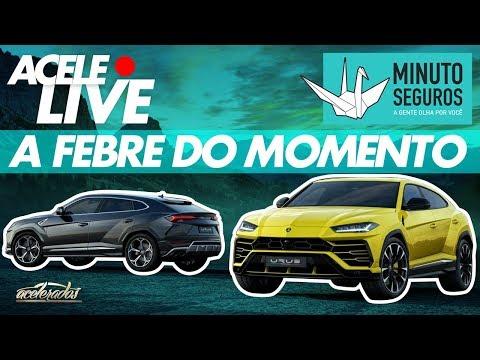 PAPO DE SUVS COM A MINUTO SEGUROS! - ACELELIVE #82