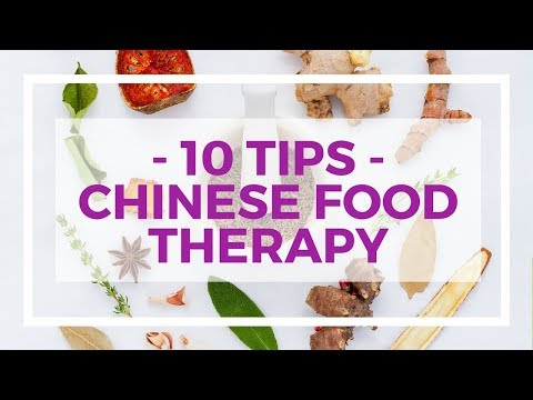 Chinese food therapy - 10 tips