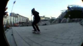 big spin front de paul at BERCY skate OMG