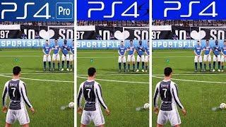 FIFA 19 | PS4 Pro VS PS4 Slim VS PS4 | Graphics Comparison