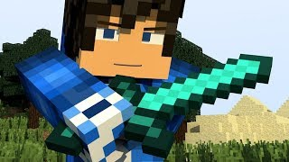 "♫ ""DIAMOND SWORD""♫ - Best Minecraft Animation Song - Top Minecraft Music"