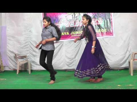 akshaya jounior college Hanmakonda- Utti meedha Koodu song Dance