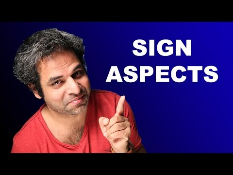 Start Using Sign Aspects in Astrology