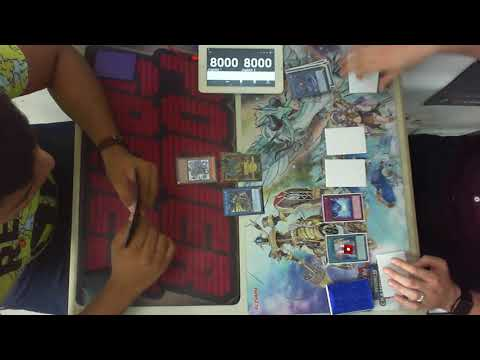 2nd RND YGO Lunes Daniel P.(Blue-eyes) Vs Carlos L.(Sky Striker Mine)