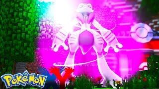 Minecraft: Pokemon X Y - MEWTWO MEGA EVOLUIU NA MINHA FRENTE #81