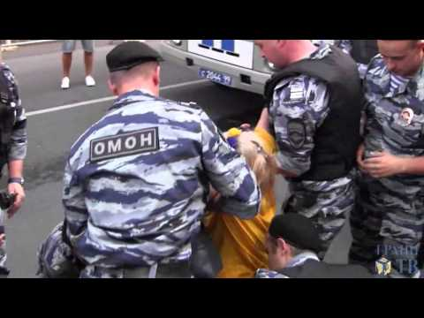 Ukraine War - Protesters detained near Ukrainian embassy in Moscow Russia
