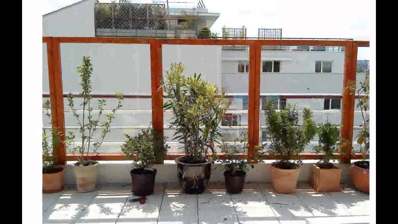 Decoration terrasse exterieur youtube for Idee deco terrasse