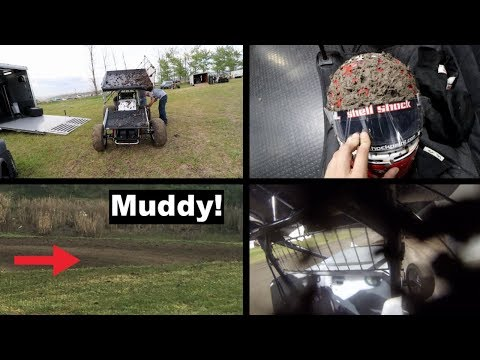 The Muddiest Sprint Car Track Of All Time!