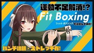 【運動不足解消⁉】夏に向けてFit Boxingで運動してみた!【switch】