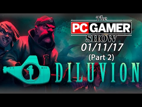 Diluvion gameplay demo - The PC Gamer Show
