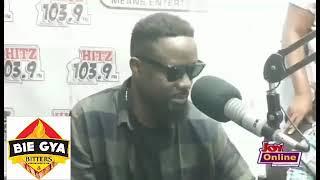 Teacher Kwadwo interviews SARKODIE for dissing PATAPAA.😂😂