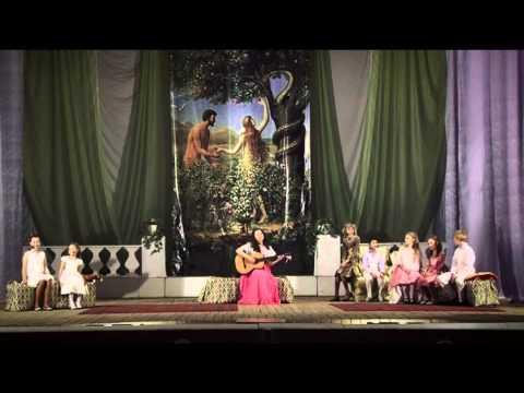 Есения Копысова и дети (мюзикл Звуки музыки) - Мои любимые вещи, До ре ми.