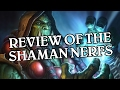 Review of the Shaman Nerfs & Ranked Play Changes - Hearthstone