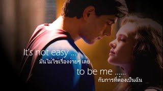 Repeat youtube video เพลงสากลแปลไทย #80# SUPERMAN It's not easy -  Five for fighting - Boyce Avenue cover