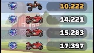 ANGRY SUPERBIKES? Motocross Gameplay in FLIPPING HECK Event - Hill Climb Racing 2