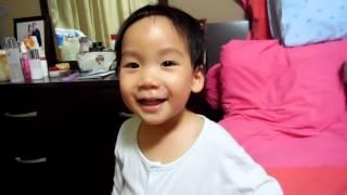 Asher sings Yun Shang Tai Yang (28 Oct 2013)