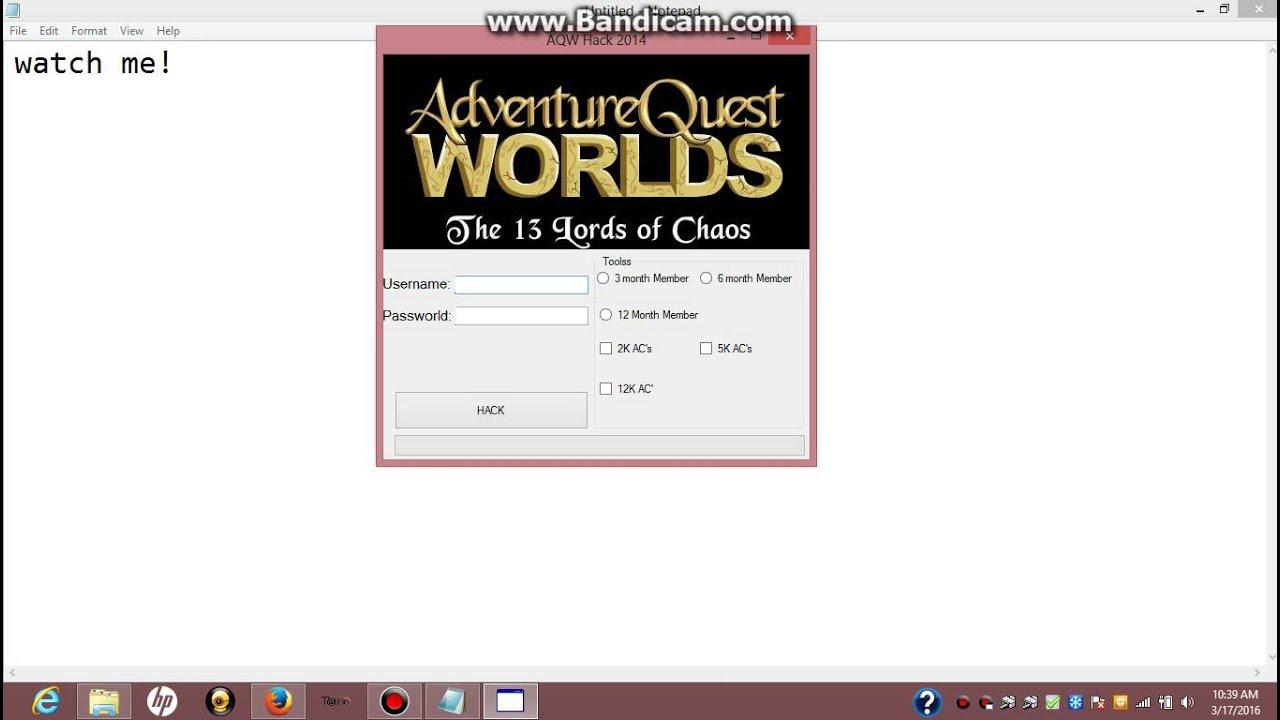 Aqw ac hack generator free download