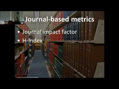 Alternative/Article-Based Metrics (Altmetrics) for Clinical and Public Health Researchers