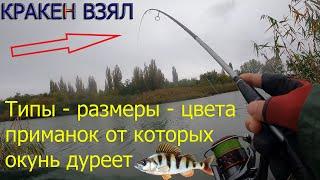 Какой цвет тип размер приманки нравиться окуню Рыбалка в дождь как успешно ловить щуку судака окуня