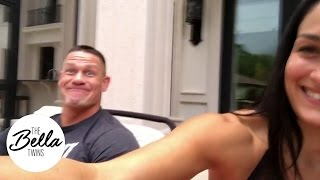 Happy hour with John Cena and Nikki Bella!