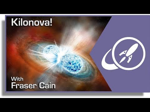 Kilonova! Gravitational Waves AND Radiation Detected From a Neutron Star Collision