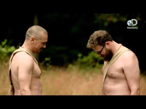 James Franco and Seth Rogen on Naked and Afraid.