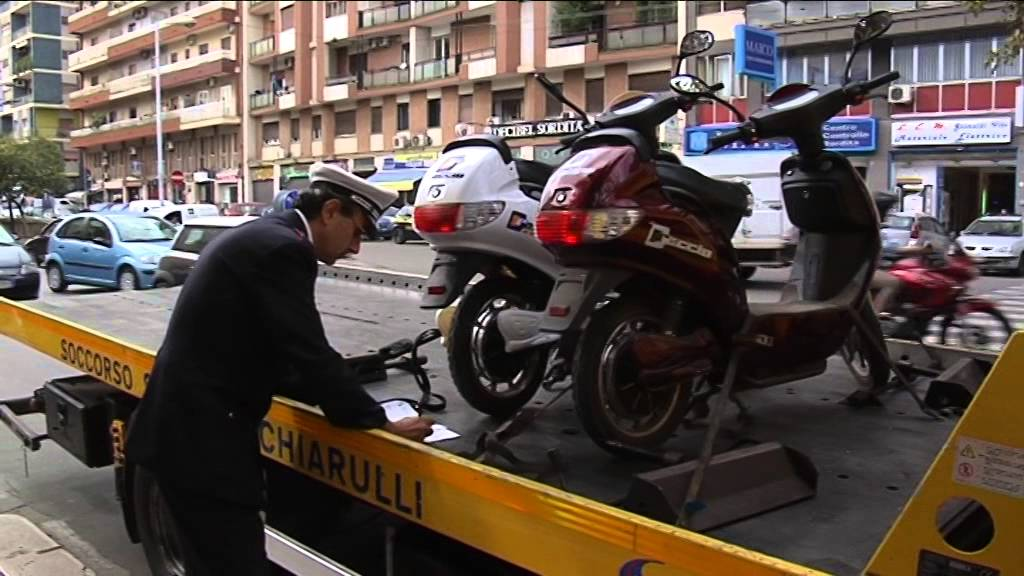 Bari La Polizia Municipale Sanziona E Sequestra Bici Elettriche