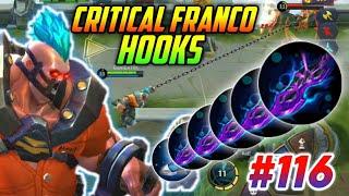 CRITICAL FRANCO HOOKS MONTAGE #116 | GamEnTrix | MOBILE LEGENDS