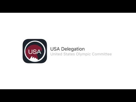 United States Olympic Committee Delegation App Tour