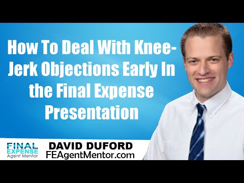 Selling Funeral Insurance - How To Deal With Knee-Jerk Objections